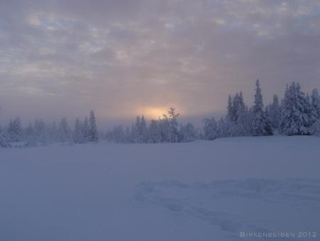 En må ta noen pauser og ta inn over seg hvor vakkert det er rundt en når verden ser slik ut